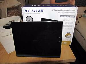 Netgear D6200 WiFi Modem Router and Built-in ADSL2+ Rockingham Rockingham Area Preview
