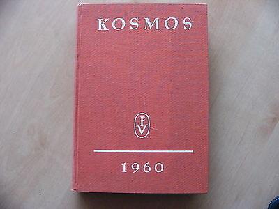 Kosmos Zeitschriften Jahrgang 1960 12 Hefte gebunden Handweiser für Naturfreunde
