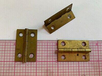 Brass Corbin 1.25 x 1 Butt Cabinet Hinge