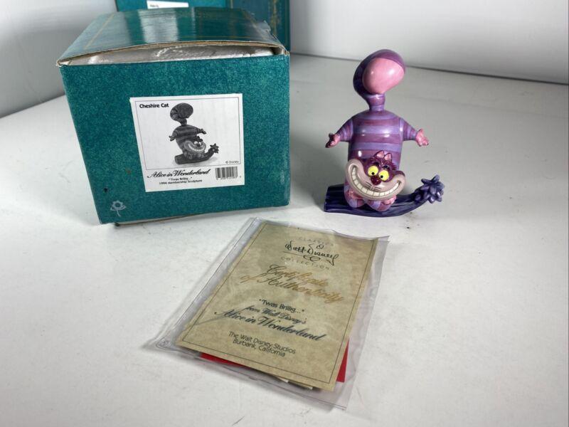 Disney Classics Collection Alice In Wonderland Cheshire Cat w/Box Coa 1994