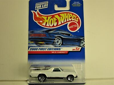 HOT WHEELS 1968 CHEVROLET CHEVY EL CAMINO FIRST EDITIONS NEW IN PACKAGE
