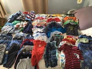 Boys 6-12months assorted clothing ( 101 items)