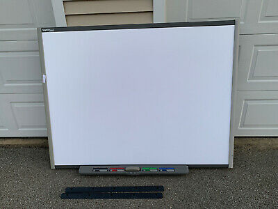 Sb680 77 Smart Board Interactive Board W 4 Pens Eraser Pen Tray. Tested