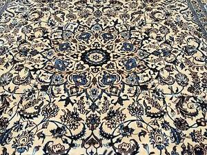MASSIVE ROOM SIZE 5x3.5m SILKINLAID HAND MADE PERSIAN NAIN RUG Peppermint Grove Cottesloe Area Preview