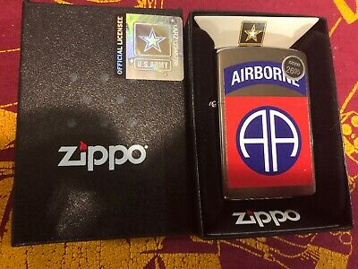 Zippo Windproof U.S. Army 82nd Airborne Lighter New In Box