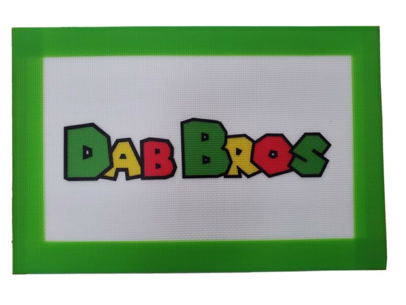 DabBros™(LARGE) Silicone Dab Mat. Oil Slick Pad. Perfect Size 12 in x8 in