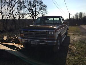 1986 Ford F-250 for sale (SOLD)