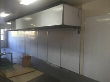 Stainless steel range hood and stainless steel wall pannels Mount Lewis Bankstown Area Preview