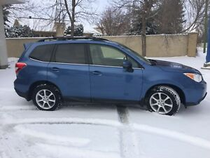 2015 Subaru Forester Ltd with extras $$$