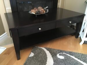 Solid wood Canadian made coffee table