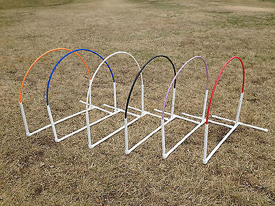 NADAC Dog Agility Equipment Arched style Hoop - 6 Colors Available
