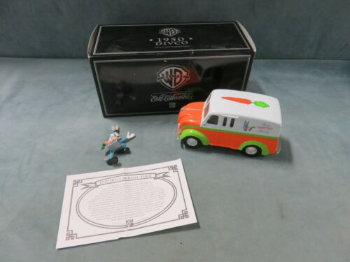 Looney Tunes Bugs Bunny 1950 Delivery Truck Die-Cast with Figurines
