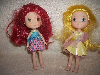 Strawberry Shortcake & Lemon Drop Dolls