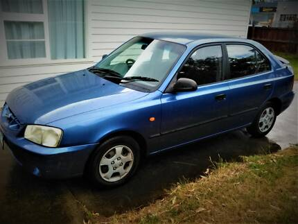 2001 Hyundai Accent. Hobart CBD Hobart City Preview