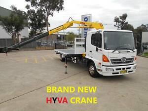 ** 2016 HINO FD 500-1124 CRANE TRUCK WITH BRAND NEW HYVA XB60 ** Arndell Park Blacktown Area Preview