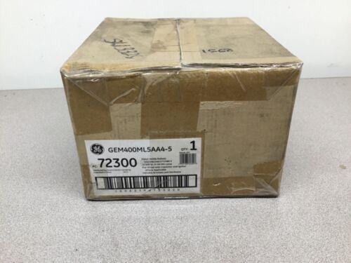 NEW GE GEM400ML5AA4-5 Metal Halide Ballast 72300 400W