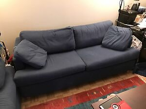 Pair of sofas , couch