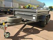 TANDEM 8X5 BOX TRAILER HI SIDE 12 MONTHS PRIV REGO $2250 Smithfield Parramatta Area Preview