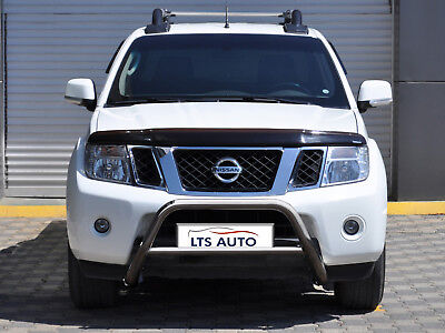 CHROME NUDGE BAR STAINLESS STEEL BULL BAR FOR NISSAN NAVARA 2010-2015 W K