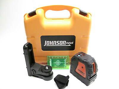 Johnson 40-6657 Greenbrite Self-leveling Cross-line Laser