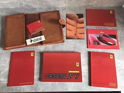 FERRARI F355 Owners Manual SET