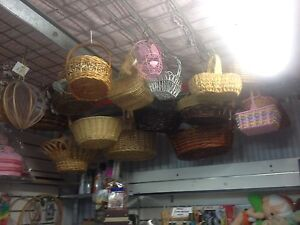 Cane baskets from$10 each Malaga Swan Area Preview