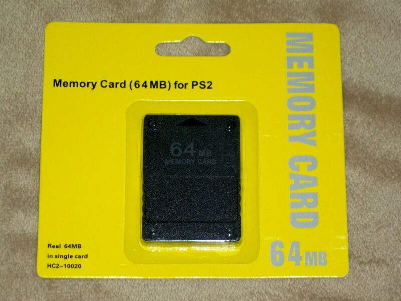 Brand New 64MB Memory Card for For PS2 (Sony Playstation 2)