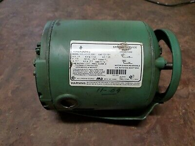 Taco Pump Emerson Electric Motor 14 Hp 1725rpm 115vac 1 Phase S55jxyde-2681