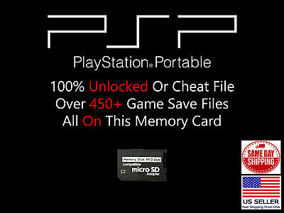 Unlocked PSP Save Collection 450+ Saves 100% Complete Cheat Final Kingdom GTA