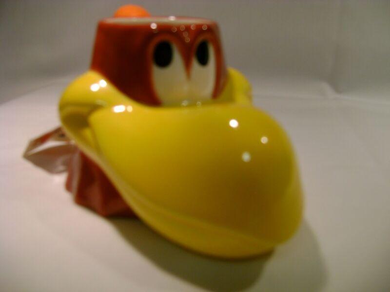 Warner Bros Looney Tunes 1994 Foghorn Leghorn coffee mug 3D figure