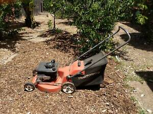 Husqvarna lawn mower with catcher