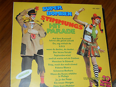 Vinyl Schallplatte -SUPER BOMBEN STIMMUNGS HIT PARADE- LP