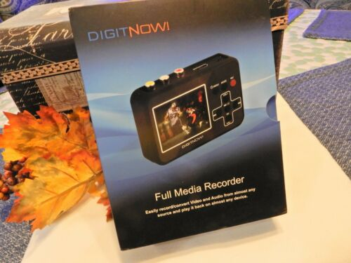 DIGITNOW FULL MEDIA RECORDER ~ EASILY Record & Convert Video Multi Features