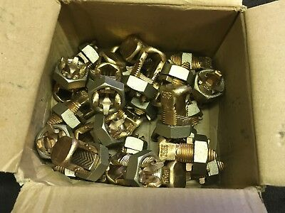 25 Burndy Ks29 Servit Split Bolt Connectors Brand New..1str-250kcmil