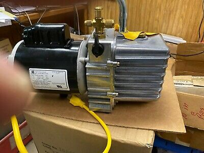 Jb Industries Dv-142n Deep Vacuum Pump Platinum 5 Cfm 2 Stage