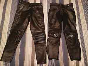 Ladies/Womens Motorcycle Leathers x2 Dainese size 44 and SMALL. Arundel Gold Coast City Preview
