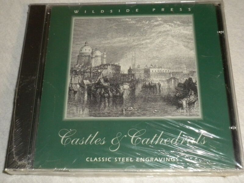 WILDSIDE PRESS castles & Cathedrals CLASSIC STEEL ENGRAVINGS clip art CD-ROM