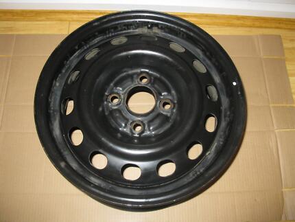 Steel wheel, 14 x 5.5 inch, 4 stud,100mm diameter,14 inch wheel Ridgehaven Tea Tree Gully Area Preview