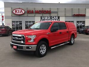 2017 Ford F-150 4x4, canopy, slide out storage bins