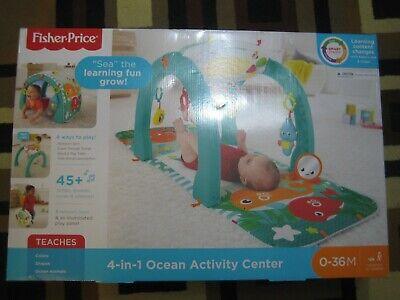 Fisher Price 4-in-1 Ocean Activity Center