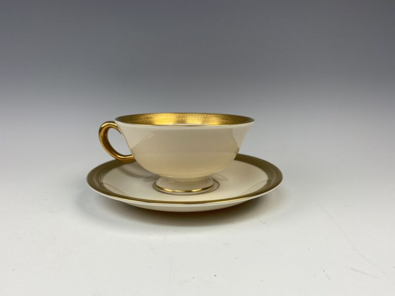 Lenox China LOWELL Cup and Saucer Set(s) Multi Avail EXCELLENT