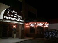 The Cottage Restaurant WANTS YOU!!!