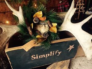 Dreaming of a Rustic Christmas...