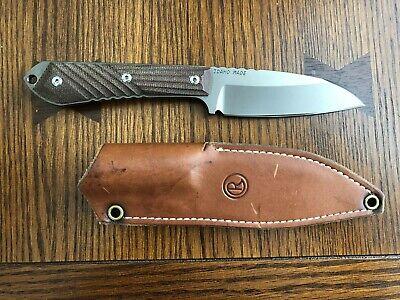 CRK Chris Reeves Nyala Insingo PVD Knife S35VN Natural Micarta.