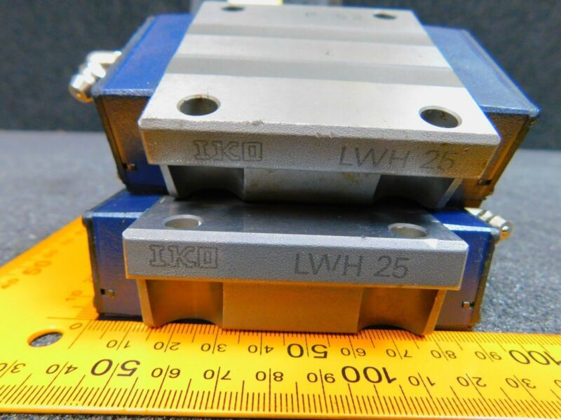 IKO LWH25 Linear Guide Rail Bearing for 25 Series Square Rails