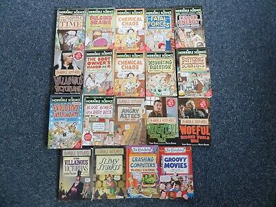 Job Lot 20 Books Factual Humor Horrible Science Histories etc. Children 8-11 yrs