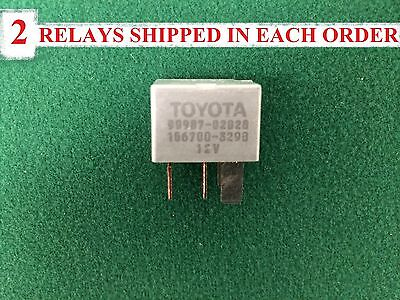 (*.* 2 - RELAYS NEW FACTORY OEM DENSO TOYOTA/LEXUS/SCION A/C Relay #90987-02028*.)