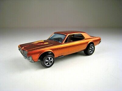HOT WHEELS HK 1968 Red Line Custom Cougar With Painted Tooth - Excellent Cond