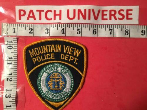 MOUNTAIN VIEW GEORGIA  POLICE  SHOULDER PATCH  B104