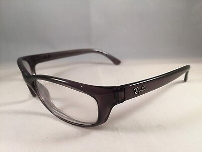 RAY BAN Smoke Gray Eyeglasses RB 4115 606/71 RX For Parts Only